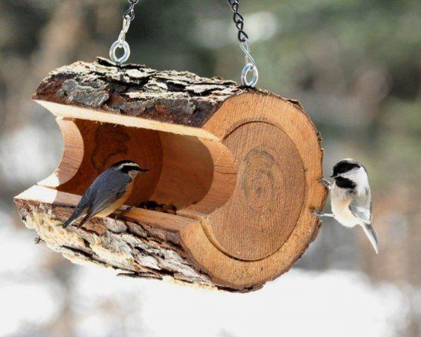 Кормушки для птиц своими руками прикольные